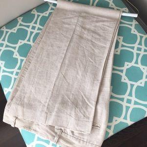 Ann Taylor Loft linen pants dress pants.